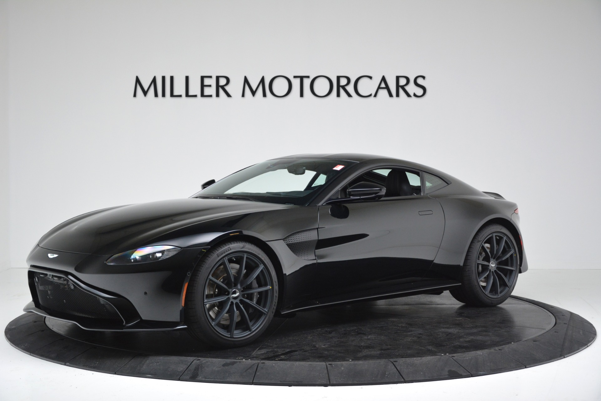 New 2019 Aston Martin Vantage V8 for sale Sold at Bentley Greenwich in Greenwich CT 06830 1