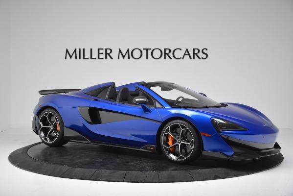 New 2020 McLaren 600LT SPIDER Convertible for sale $304,970 at Bentley Greenwich in Greenwich CT 06830 10
