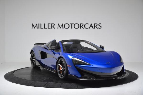 New 2020 McLaren 600LT SPIDER Convertible for sale $304,970 at Bentley Greenwich in Greenwich CT 06830 11