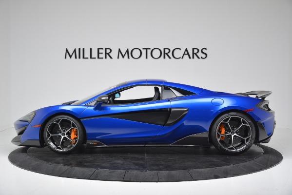 New 2020 McLaren 600LT SPIDER Convertible for sale $304,970 at Bentley Greenwich in Greenwich CT 06830 13