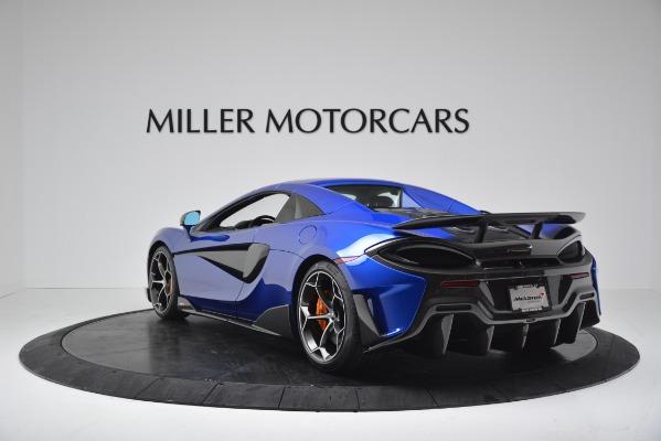 New 2020 McLaren 600LT SPIDER Convertible for sale $304,970 at Bentley Greenwich in Greenwich CT 06830 14