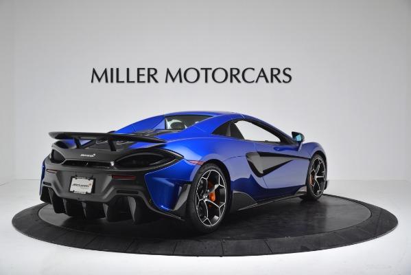New 2020 McLaren 600LT SPIDER Convertible for sale $304,970 at Bentley Greenwich in Greenwich CT 06830 15