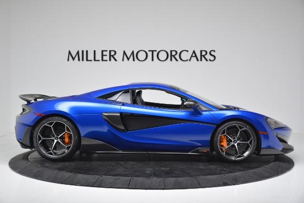 New 2020 McLaren 600LT SPIDER Convertible for sale $304,970 at Bentley Greenwich in Greenwich CT 06830 16
