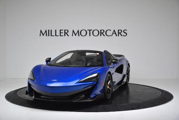 New 2020 McLaren 600LT SPIDER Convertible for sale $304,970 at Bentley Greenwich in Greenwich CT 06830 2