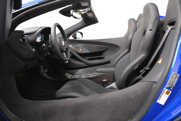 New 2020 McLaren 600LT SPIDER Convertible for sale Sold at Bentley Greenwich in Greenwich CT 06830 20