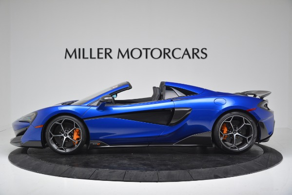 New 2020 McLaren 600LT SPIDER Convertible for sale Sold at Bentley Greenwich in Greenwich CT 06830 3