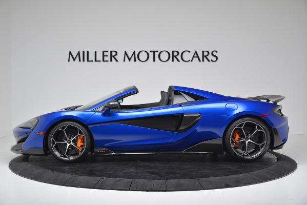 New 2020 McLaren 600LT SPIDER Convertible for sale $304,970 at Bentley Greenwich in Greenwich CT 06830 3