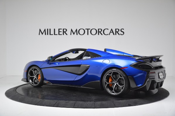 New 2020 McLaren 600LT SPIDER Convertible for sale Sold at Bentley Greenwich in Greenwich CT 06830 4