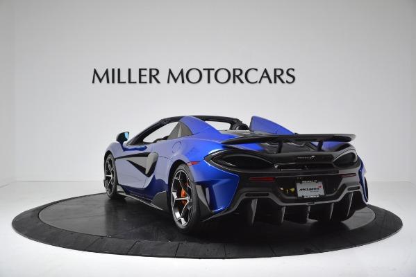 New 2020 McLaren 600LT SPIDER Convertible for sale $304,970 at Bentley Greenwich in Greenwich CT 06830 5
