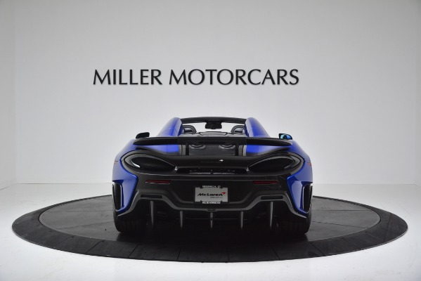 New 2020 McLaren 600LT SPIDER Convertible for sale Sold at Bentley Greenwich in Greenwich CT 06830 6