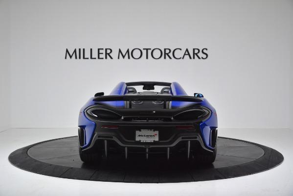 New 2020 McLaren 600LT SPIDER Convertible for sale $304,970 at Bentley Greenwich in Greenwich CT 06830 6