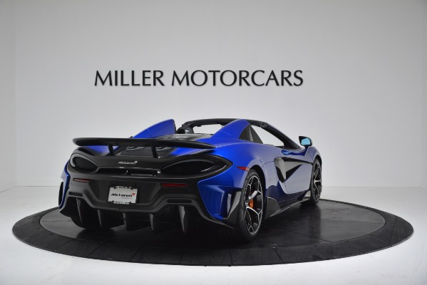 New 2020 McLaren 600LT SPIDER Convertible for sale Sold at Bentley Greenwich in Greenwich CT 06830 7