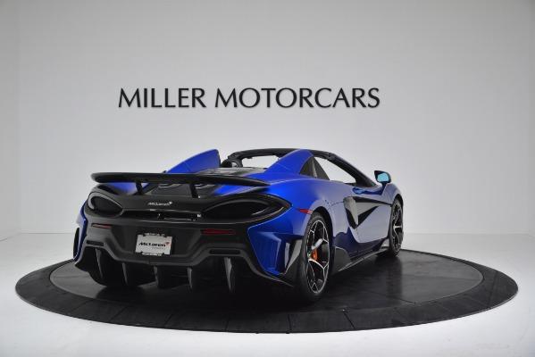 New 2020 McLaren 600LT SPIDER Convertible for sale $304,970 at Bentley Greenwich in Greenwich CT 06830 7