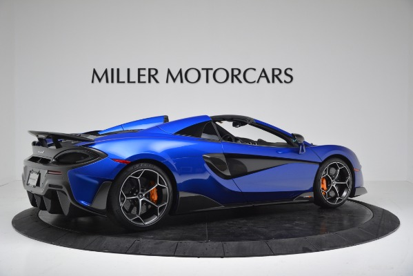 New 2020 McLaren 600LT SPIDER Convertible for sale Sold at Bentley Greenwich in Greenwich CT 06830 8