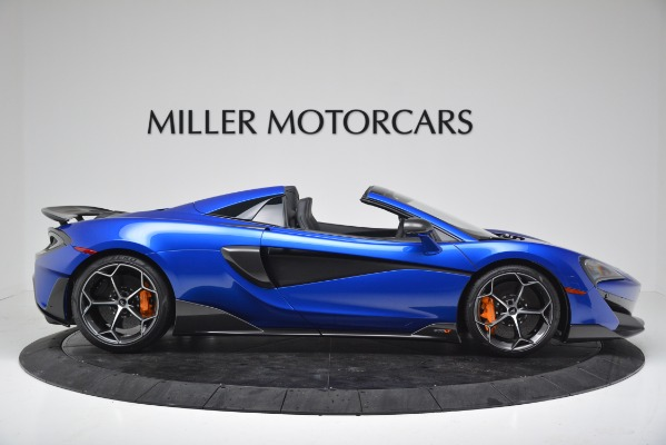 New 2020 McLaren 600LT SPIDER Convertible for sale Sold at Bentley Greenwich in Greenwich CT 06830 9
