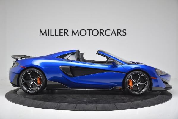 New 2020 McLaren 600LT SPIDER Convertible for sale $304,970 at Bentley Greenwich in Greenwich CT 06830 9