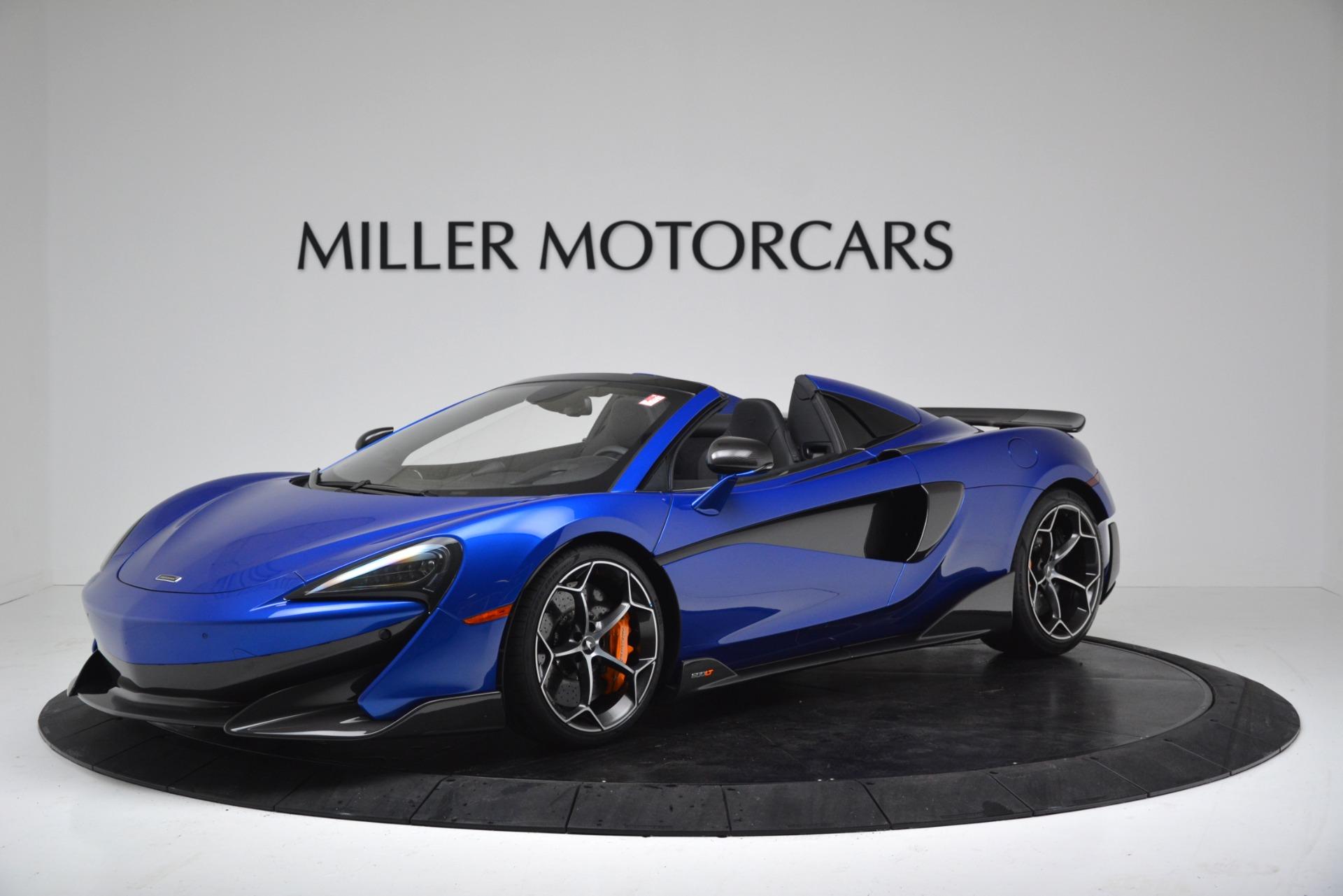New 2020 McLaren 600LT SPIDER Convertible for sale $304,970 at Bentley Greenwich in Greenwich CT 06830 1