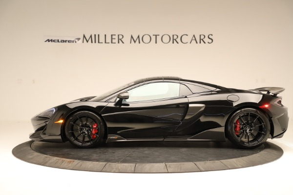 Used 2020 McLaren 600LT Spider for sale $249,900 at Bentley Greenwich in Greenwich CT 06830 10
