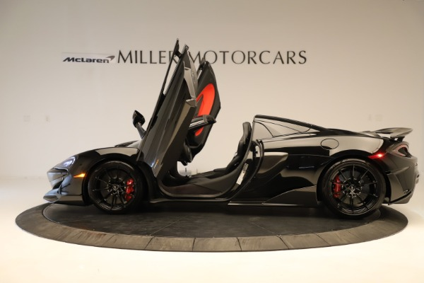 Used 2020 McLaren 600LT Spider for sale $249,900 at Bentley Greenwich in Greenwich CT 06830 18