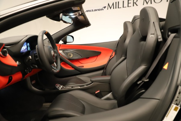 Used 2020 McLaren 600LT Spider for sale $249,900 at Bentley Greenwich in Greenwich CT 06830 26