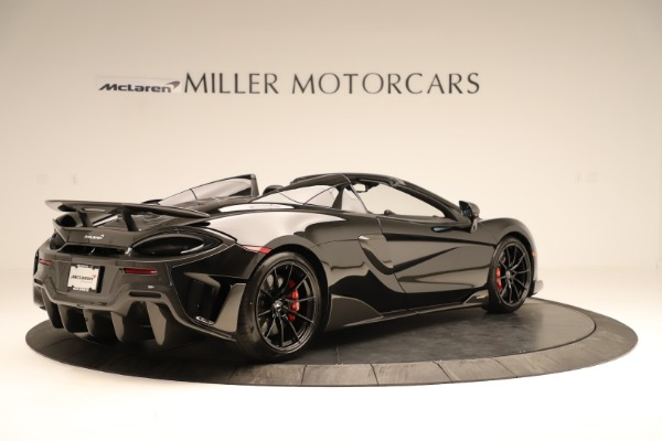 Used 2020 McLaren 600LT Spider for sale $249,900 at Bentley Greenwich in Greenwich CT 06830 5