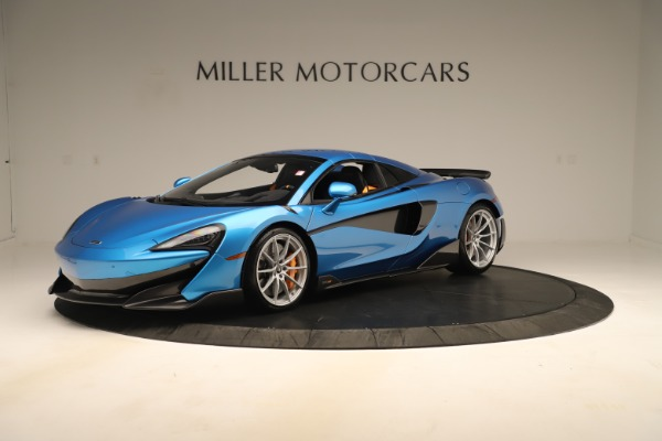 New 2020 McLaren 600LT SPIDER Convertible for sale $303,059 at Bentley Greenwich in Greenwich CT 06830 10