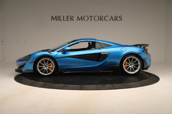 New 2020 McLaren 600LT SPIDER Convertible for sale $303,059 at Bentley Greenwich in Greenwich CT 06830 11