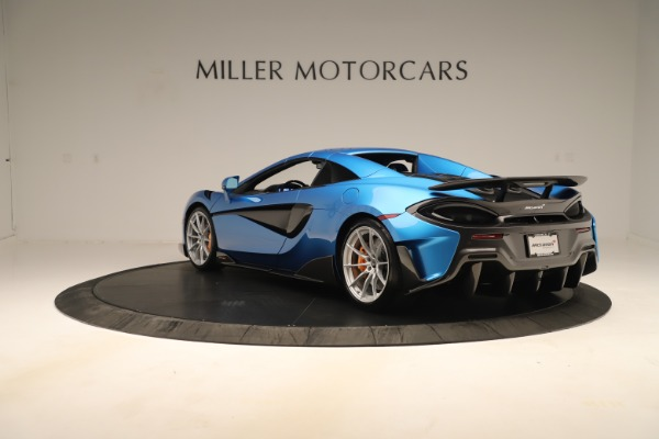 New 2020 McLaren 600LT SPIDER Convertible for sale $303,059 at Bentley Greenwich in Greenwich CT 06830 12