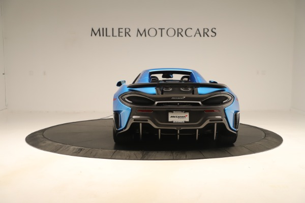 New 2020 McLaren 600LT SPIDER Convertible for sale $303,059 at Bentley Greenwich in Greenwich CT 06830 13