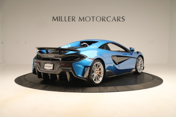 New 2020 McLaren 600LT SPIDER Convertible for sale $303,059 at Bentley Greenwich in Greenwich CT 06830 14