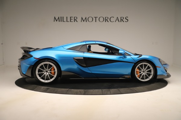 New 2020 McLaren 600LT SPIDER Convertible for sale $303,059 at Bentley Greenwich in Greenwich CT 06830 15