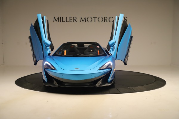 New 2020 McLaren 600LT SPIDER Convertible for sale $303,059 at Bentley Greenwich in Greenwich CT 06830 17