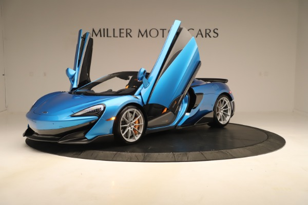New 2020 McLaren 600LT SPIDER Convertible for sale $303,059 at Bentley Greenwich in Greenwich CT 06830 18