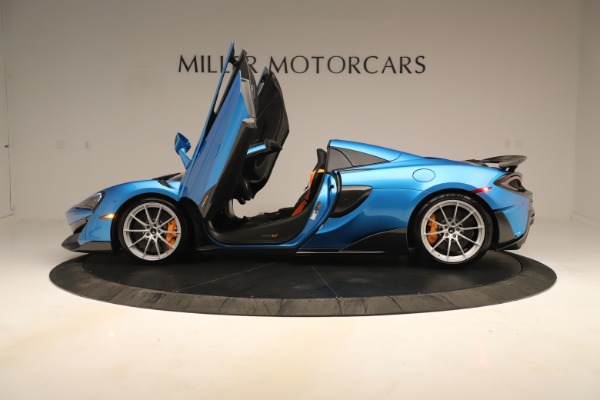 New 2020 McLaren 600LT SPIDER Convertible for sale $303,059 at Bentley Greenwich in Greenwich CT 06830 19