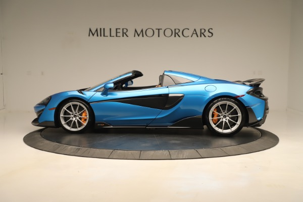 New 2020 McLaren 600LT SPIDER Convertible for sale $303,059 at Bentley Greenwich in Greenwich CT 06830 2