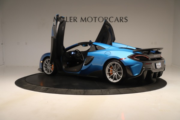 New 2020 McLaren 600LT SPIDER Convertible for sale $303,059 at Bentley Greenwich in Greenwich CT 06830 20
