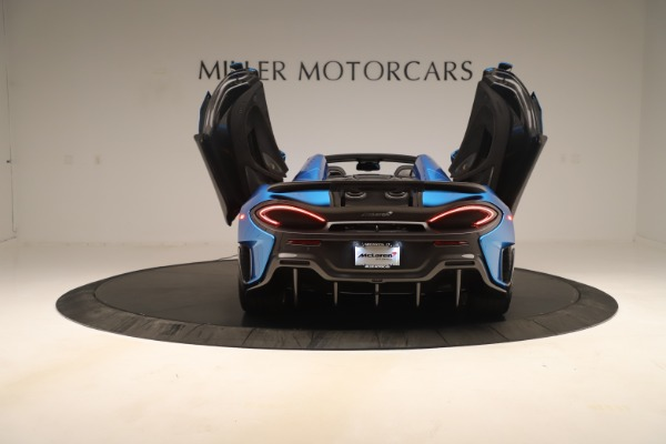 New 2020 McLaren 600LT SPIDER Convertible for sale $303,059 at Bentley Greenwich in Greenwich CT 06830 21