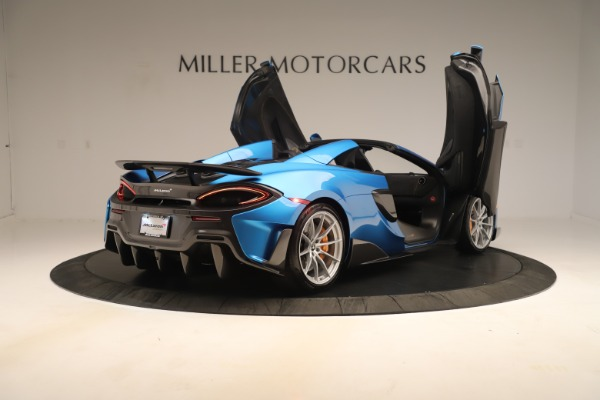 New 2020 McLaren 600LT SPIDER Convertible for sale $303,059 at Bentley Greenwich in Greenwich CT 06830 22