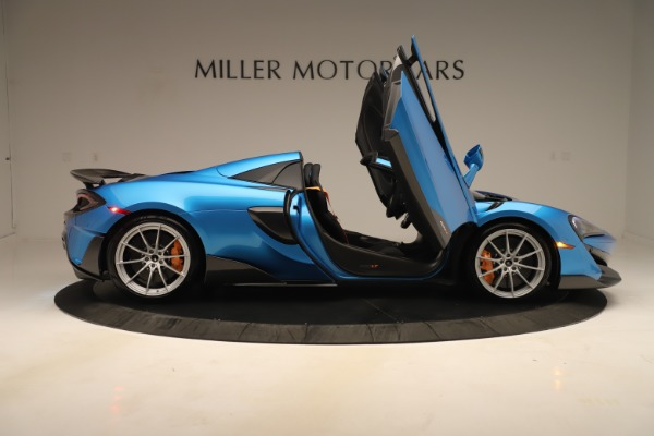 New 2020 McLaren 600LT SPIDER Convertible for sale $303,059 at Bentley Greenwich in Greenwich CT 06830 23