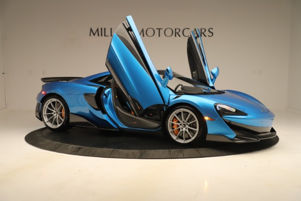 New 2020 McLaren 600LT SPIDER Convertible for sale $303,059 at Bentley Greenwich in Greenwich CT 06830 24