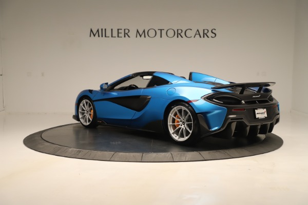 New 2020 McLaren 600LT SPIDER Convertible for sale $303,059 at Bentley Greenwich in Greenwich CT 06830 3