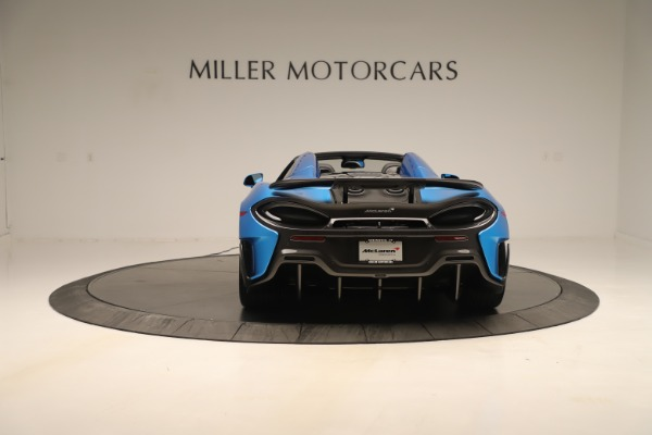 New 2020 McLaren 600LT SPIDER Convertible for sale $303,059 at Bentley Greenwich in Greenwich CT 06830 4