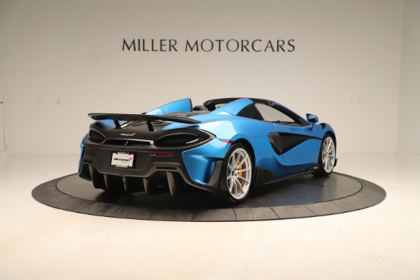 New 2020 McLaren 600LT SPIDER Convertible for sale $303,059 at Bentley Greenwich in Greenwich CT 06830 5
