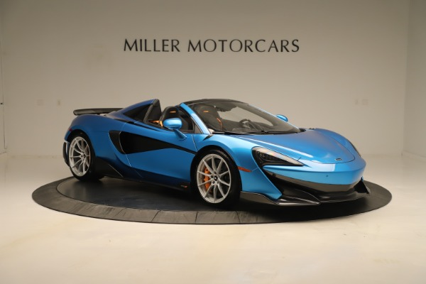 New 2020 McLaren 600LT SPIDER Convertible for sale $303,059 at Bentley Greenwich in Greenwich CT 06830 7