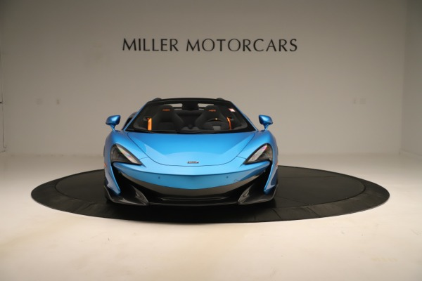 New 2020 McLaren 600LT SPIDER Convertible for sale $303,059 at Bentley Greenwich in Greenwich CT 06830 8