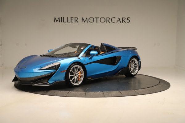 New 2020 McLaren 600LT SPIDER Convertible for sale $303,059 at Bentley Greenwich in Greenwich CT 06830 1