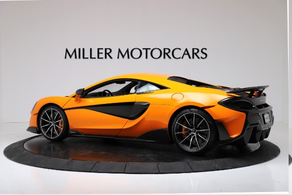 New 2019 McLaren 600LT Coupe for sale Call for price at Bentley Greenwich in Greenwich CT 06830 4