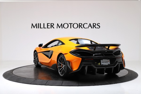New 2019 McLaren 600LT Coupe for sale Call for price at Bentley Greenwich in Greenwich CT 06830 5