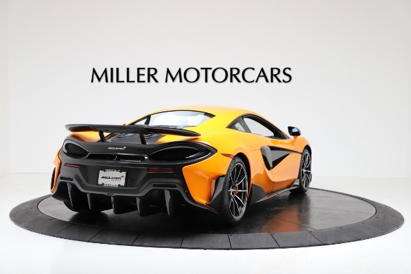 New 2019 McLaren 600LT Coupe for sale Call for price at Bentley Greenwich in Greenwich CT 06830 7
