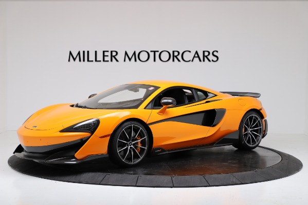 New 2019 McLaren 600LT Coupe for sale Call for price at Bentley Greenwich in Greenwich CT 06830 1